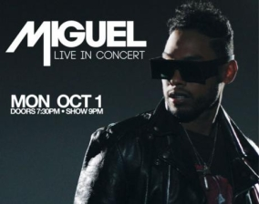 Miguel featuring Live in Concert