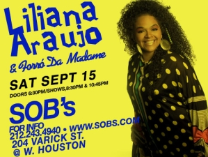 Liliana Araujo & Forro da Madame, Samba Saturdays