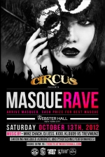 CIRCUS SATURDAYS : MASQUERAVE