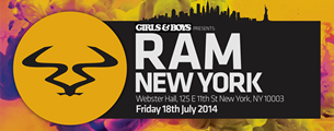 Girls & Boys presents Ram with Andy C / Rene Lavice / MC Armanni Reign / Alex English / rekLES