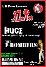 D.I. (fr. LA), Huge (fr. Belmar) / The F-Bombers