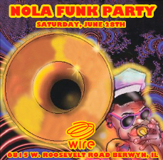 NOLA Funk Party Featuring Rebirth Brass Band!