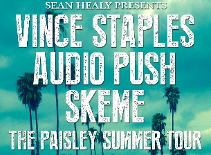 Vince Staples, Skeme & Audio Push @ Grand Live