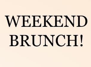 Saturday Brunch