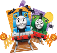 Day Out With Thomas Presents, Thomas and Percy's Halloween Party(TM)