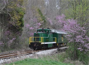 French indiana lick ride train