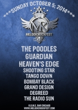 Tickets for Melodic Rock Fest 4, The Poodles, Guardian