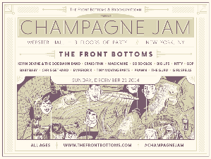 tickets for champagne jam the front bottoms kevin devine craig