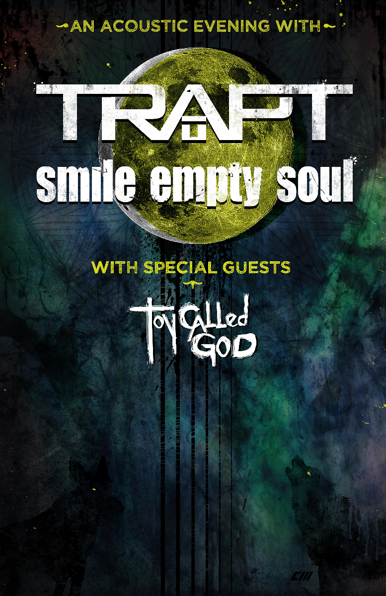 Trapt, SMILE EMPTY SOUL, Toy Called God, Frank Palangi