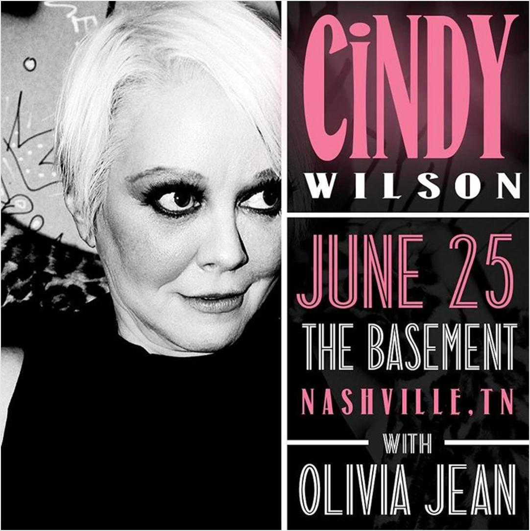 Cindy Wilson (of B-52's) W/ Olivia Jean