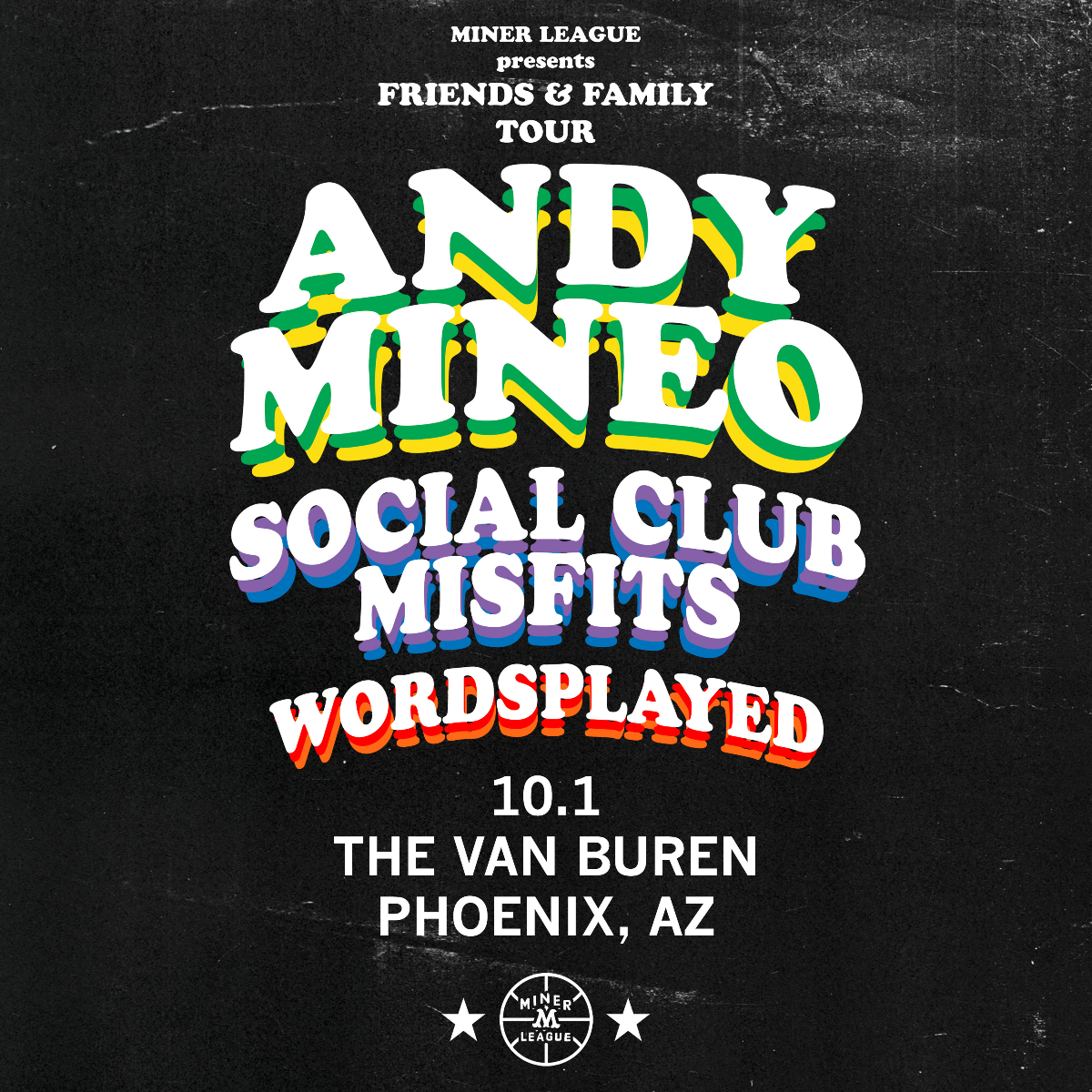 Andy Mineo Friends And Family Tour