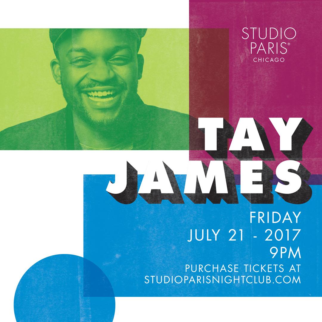 Tay James at Studio Paris