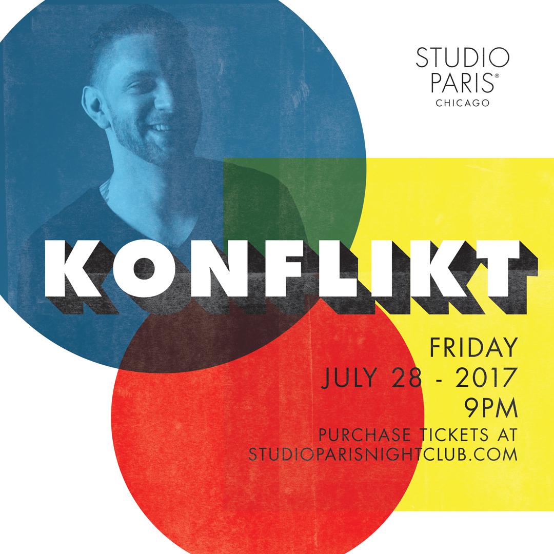 See Details for Konflikt at Studio Paris