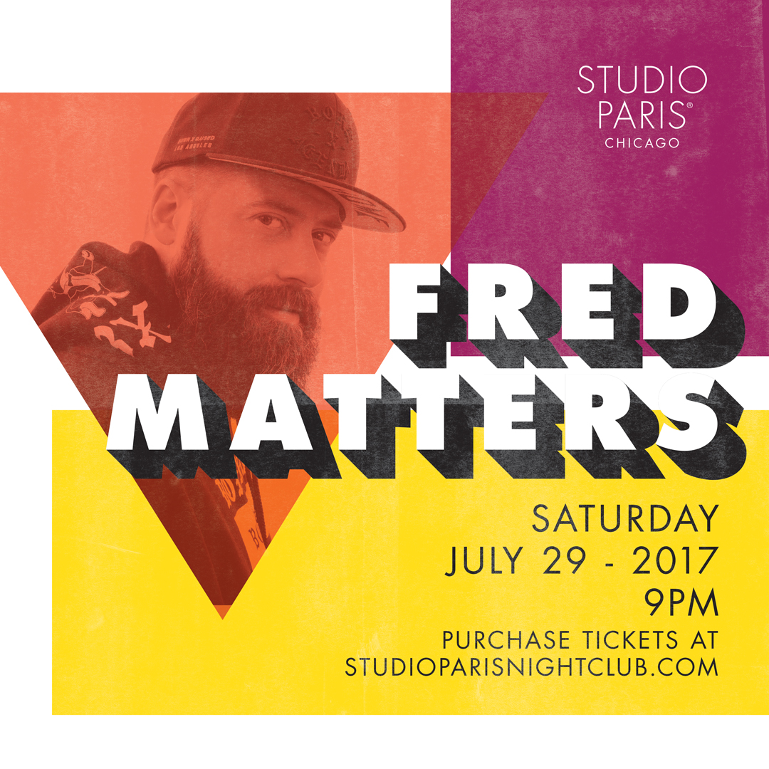 See Details for Fred Matters at Studio Paris
