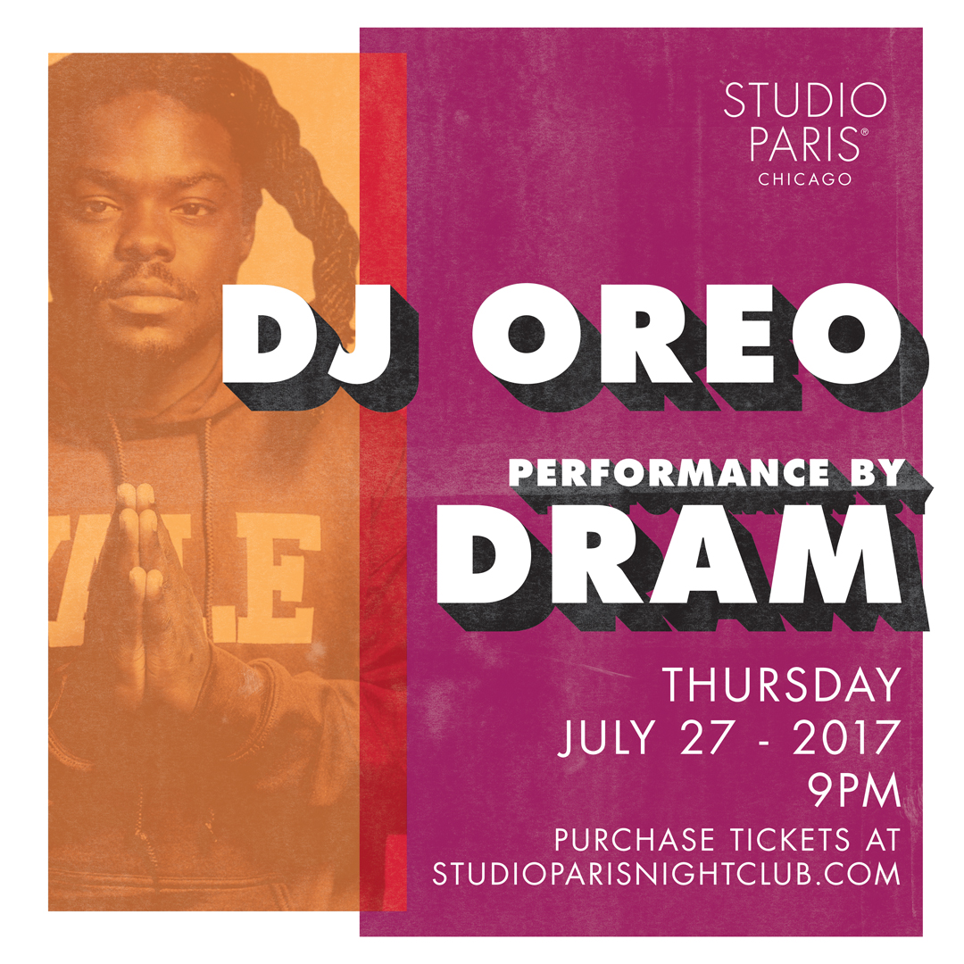 See Details for DJ Oreo at Studio Paris