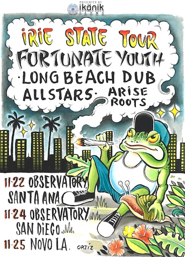 Fortunate Youth With Long Beach Dub Allstars Arise Roots