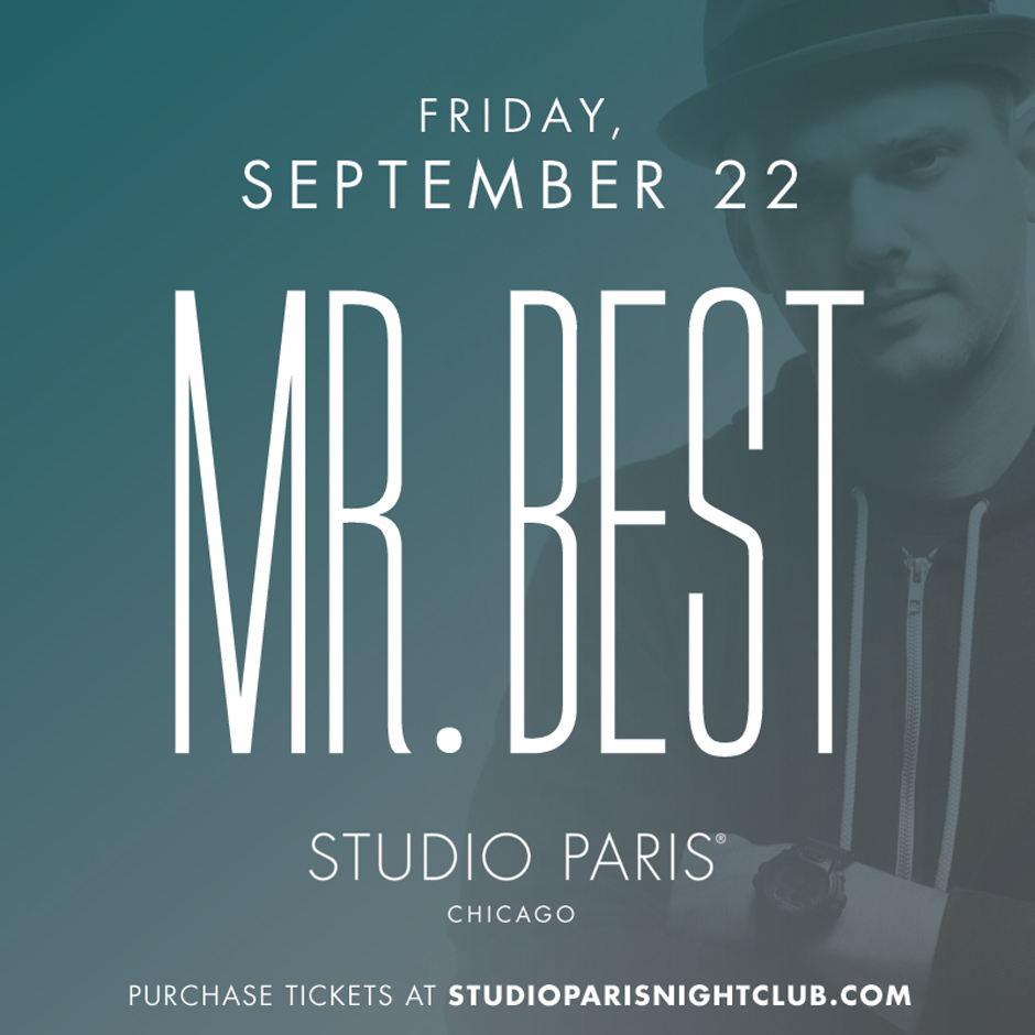 See Details for Mr. Best at Studio Paris