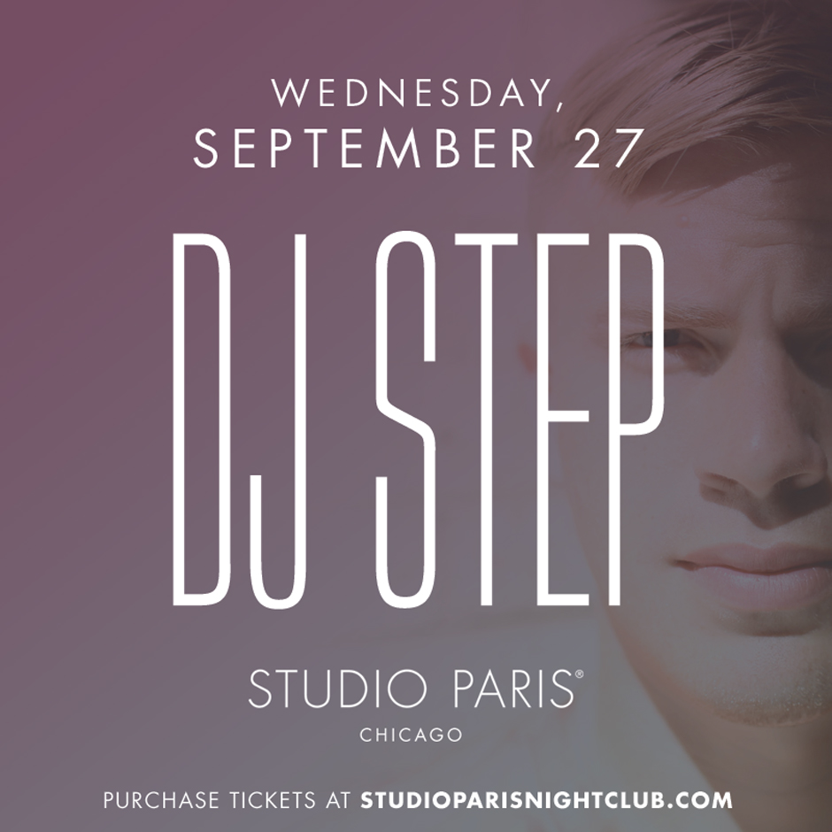 See Details for DJ Step at Studio Paris