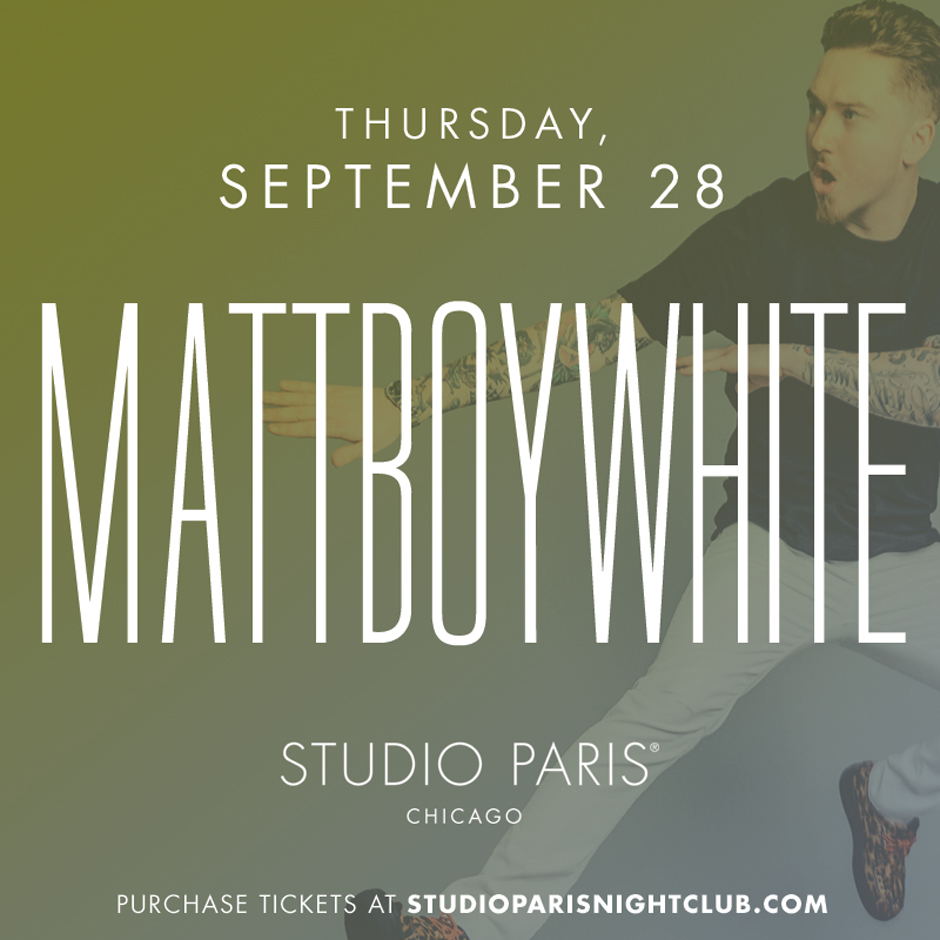 See Details for MattBoyWhite at Studio Paris