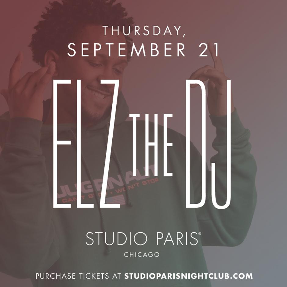 See Details for Elz the DJ at Studio Paris