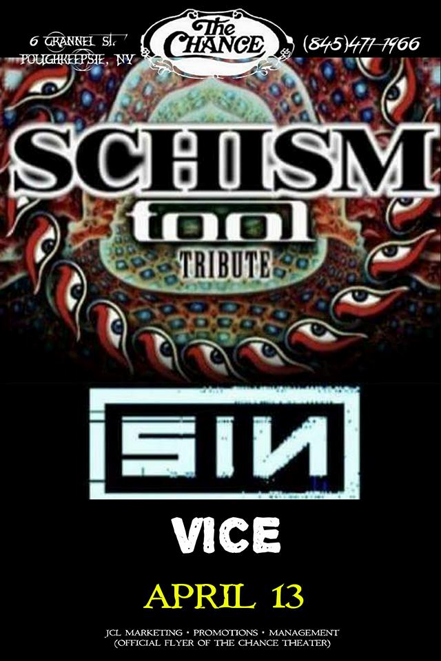 Schism (A Tribute To Tool), SIN (A Tribute to Nine Inch Nails), Vice ...