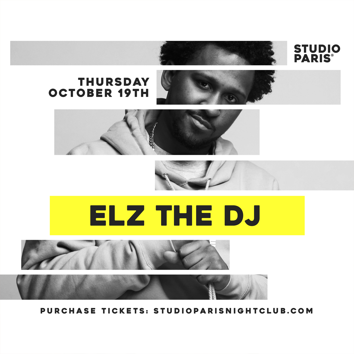 See Details for Elz the DJ at Studio Paris
