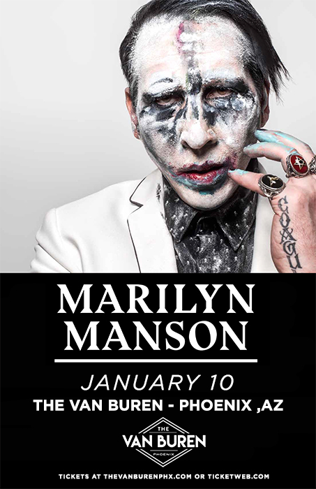 Marilyn manson amazonica events m4hsunfo