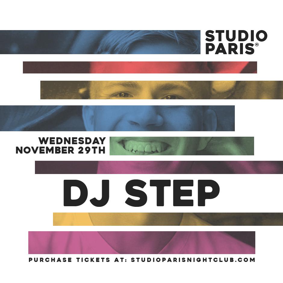 See Details for DJ Step at Studio Paris