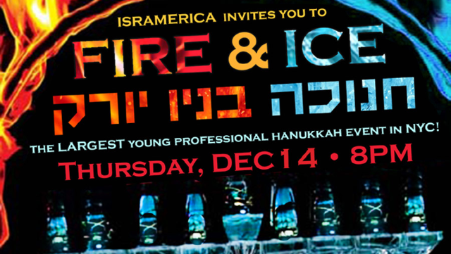 Tickets for ISRAMERICA Presents The Fire Ice Hanukkah Celebration