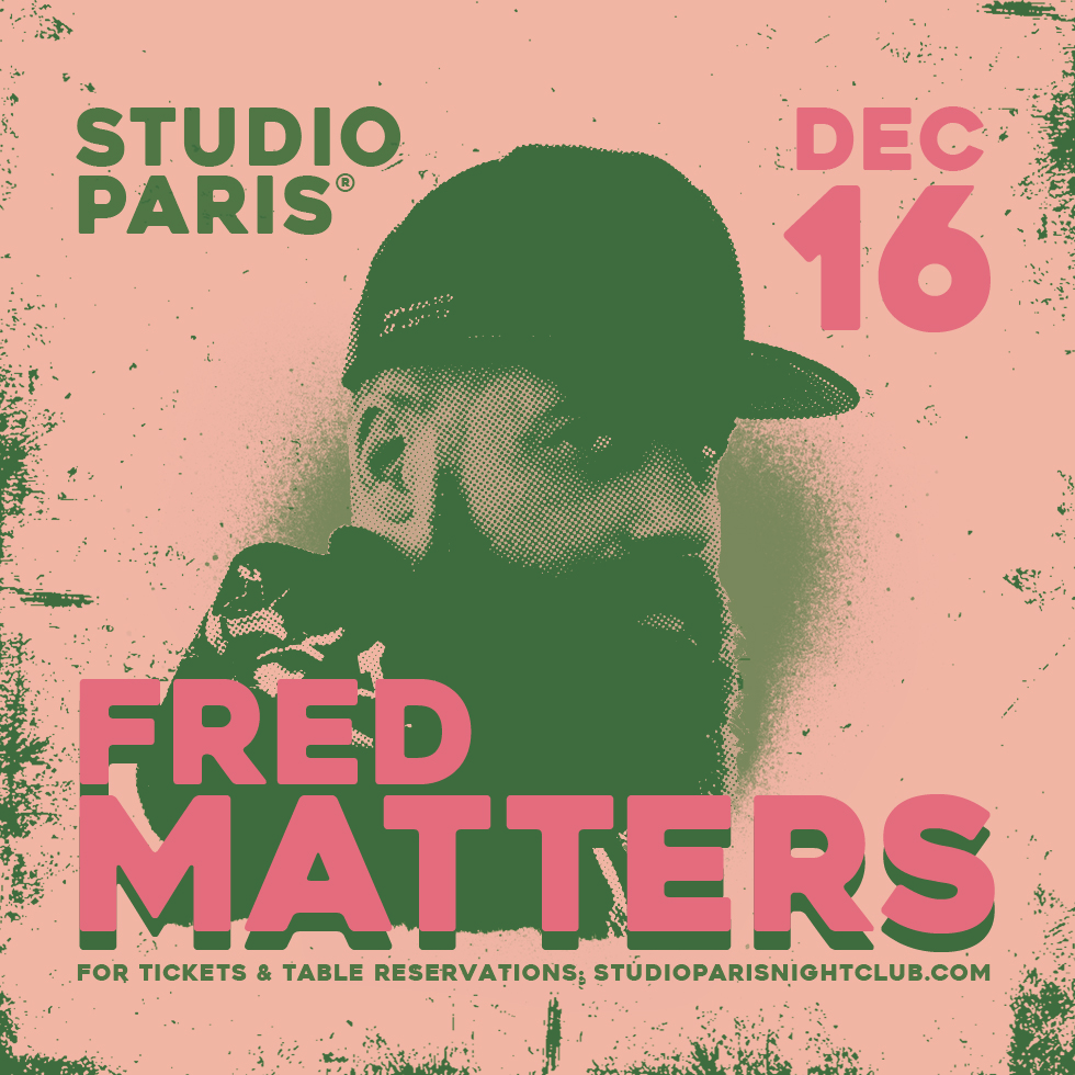 Fred Matters at Studio Paris