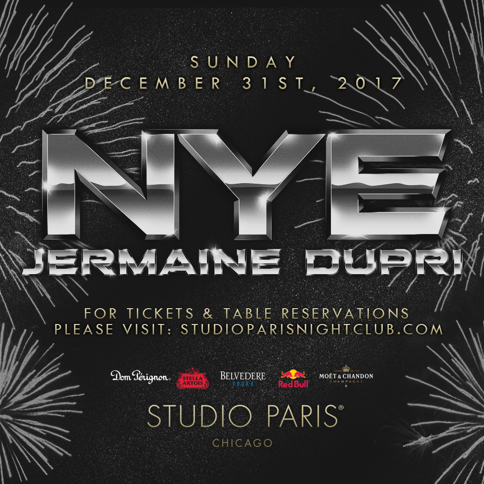 NYE Party With Jermaine Dupri At Studio Paris