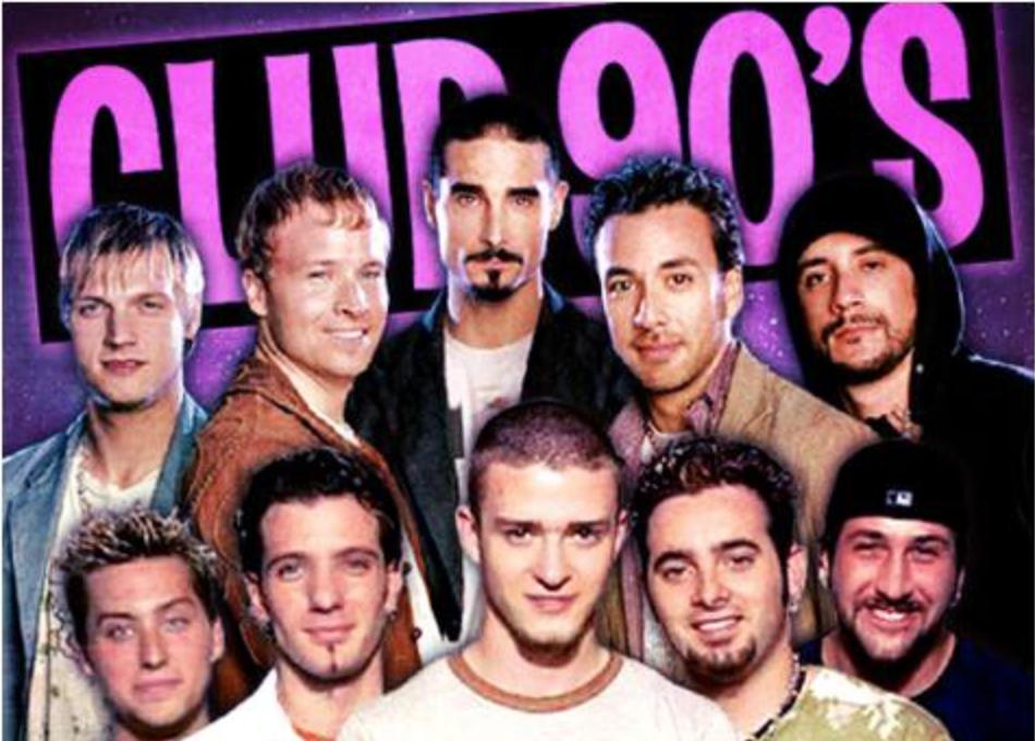 backstreet boys  Backstreet Boys vs. N'Sync: Club 90's