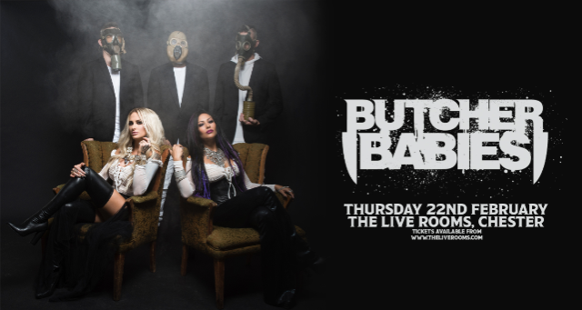 tickets for butcher babies ticketweb the live rooms in chester gb