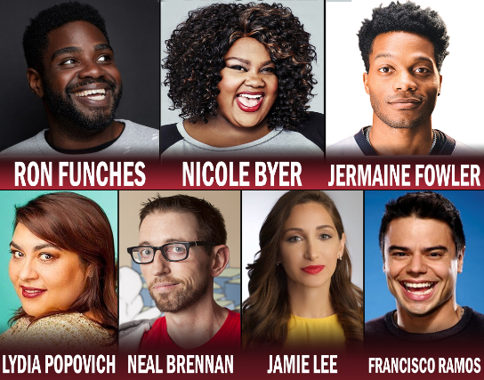 Tickets For Tonight At The Improv W Jermaine Fowler Ron Funches
