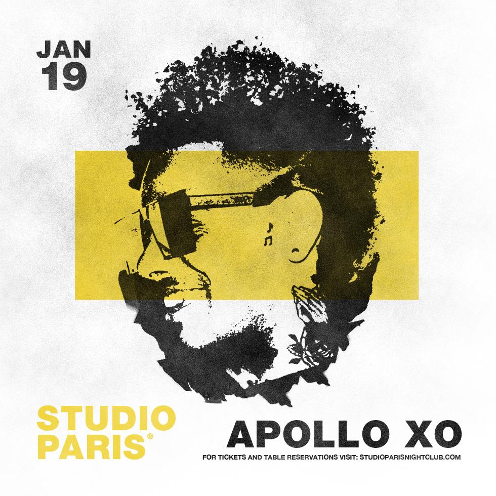 Apollo XO at Studio Paris
