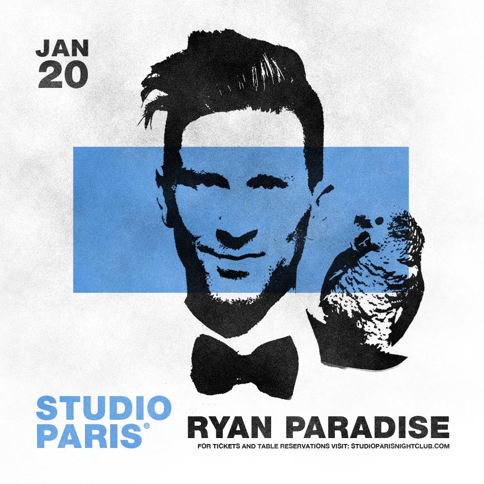 Ryan Paradise at Studio Paris