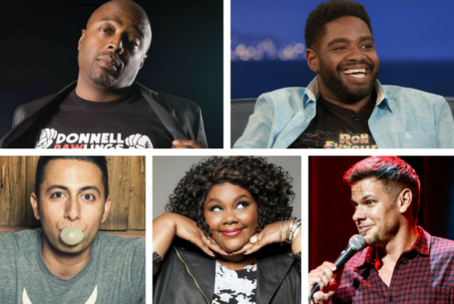 Tickets For Tonight At The Improv With Donnell Rawlings Ron Funches