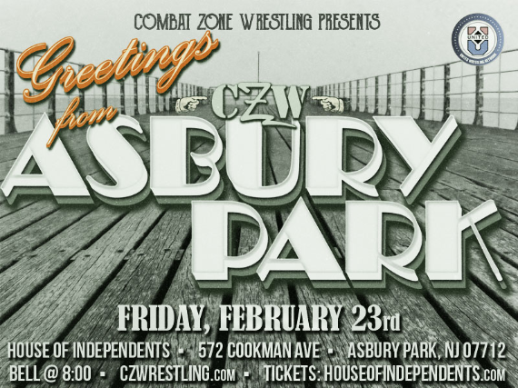 Tickets for combat zone wrestling presents greetings from asbury combat zone wrestling presents greetings from asbury m4hsunfo