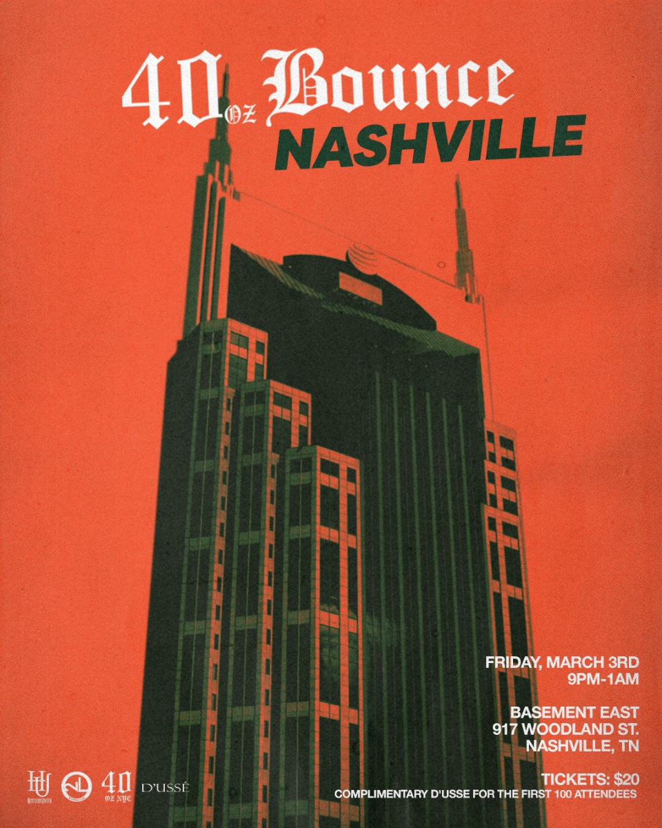 40oz Bounce Tour- Nashville