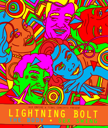 tickets for lightning bolt ticketweb the garage in london gb