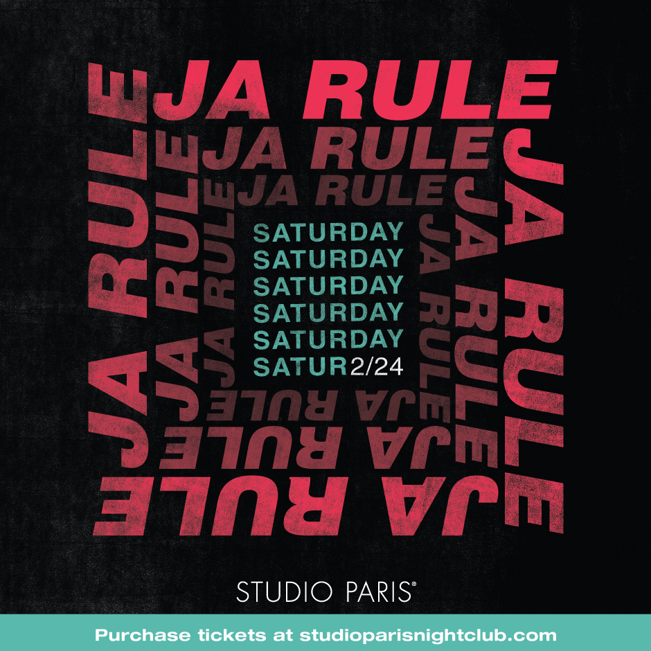 See Details for Ja Rule at Studio Paris