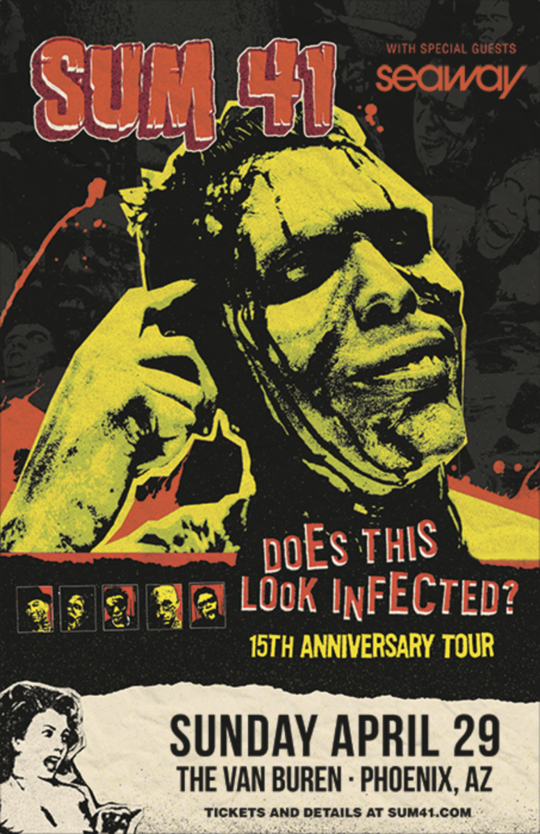 Sum 41 does this look infected 15th anniversary tour events kristyandbryce Images