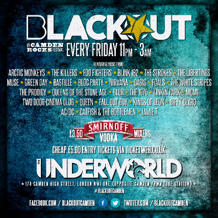 Tickets For BLACKOUT