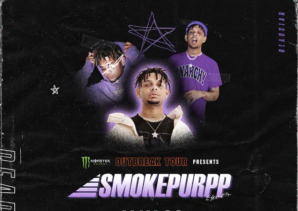 Smokepurpp Monster Energy Outbreak Tour