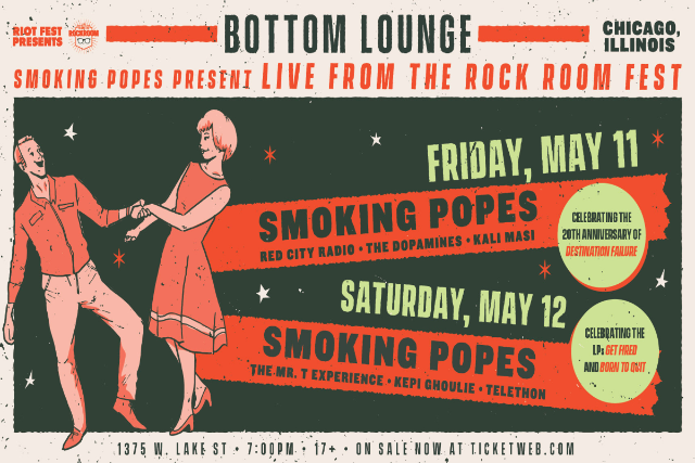 Tickets For Smoking Popes Presentve From The Rock Room Fest 2