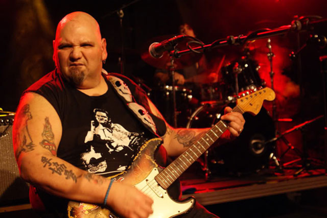 Papa chubby guitar