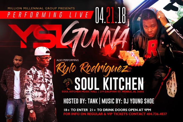 YSL GUNNA , Hosted By Tank Music By: Dj Young Shoe