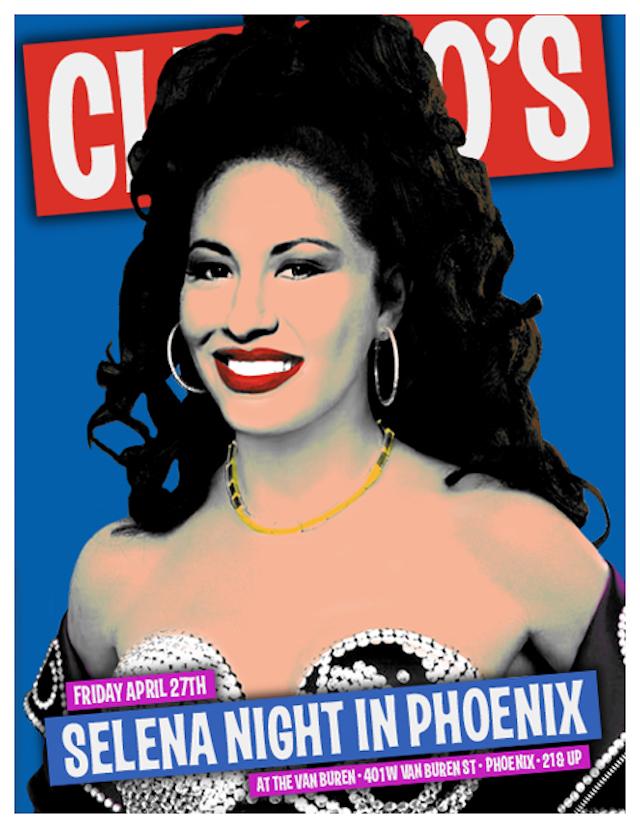 Selena Night Phoenix Club 90 S