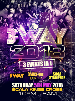 Tickets for 3WAY (3 Events In 1) | TicketWeb - Scala in London, GB