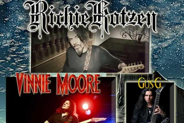 Richie Kotzen, Vinnie Moore & Gus G